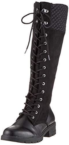 Tamaris Damen 1-1-25626-23 Hohe Stiefel, Schwarz (Black 1), 37 EU