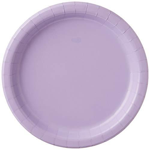Creative Converting Paper Dinner Plates, 8.75', Luscious Lavender