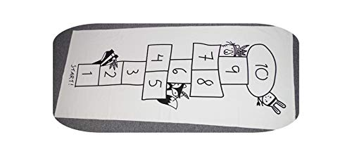 Map Rug Kids  Baby Hopscotch Gym Mat Blanket Infantil Spielmatte für Kinder Spielteppich Pädagogischer Sport Krabbelmatten Kinder Matten-Nummer Schach-siehe unten für Größenbeschreibungen