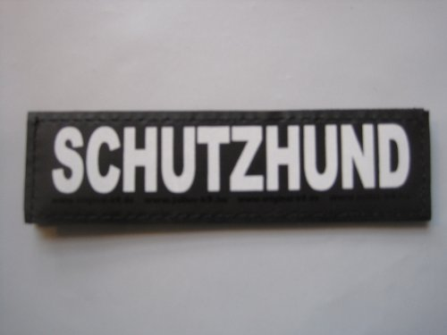 Labels SCHUTZHUND (Large) Package of 2 Julius-K9 for Harnesses