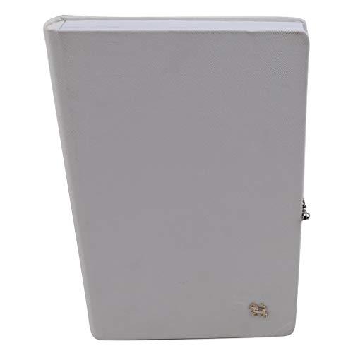 SUNSKYOO Nail Display Book Papier 160 Nail Color Gelpoliermittel Kartentipps Art Salon Design Booklet, weiß