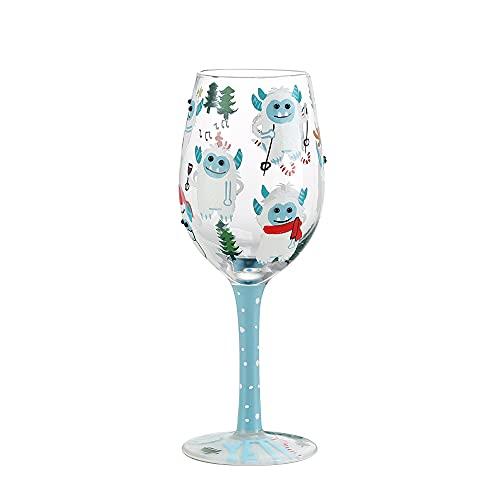Copas de vino pintadas a mano, vasos de cristal, copas de tazón...