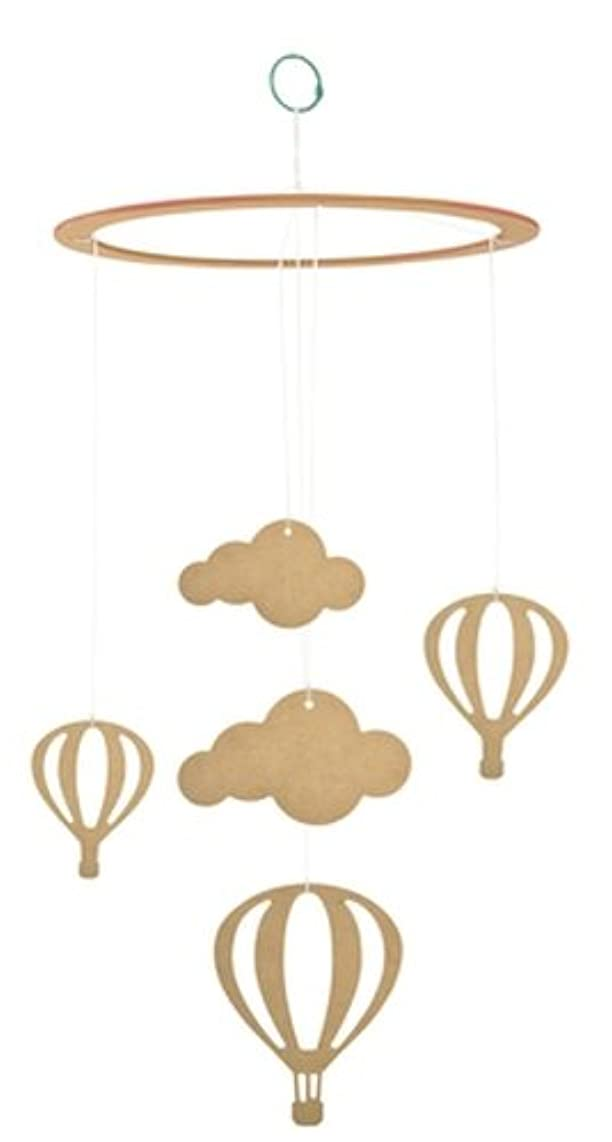 Kaisercraft Beyond The Page MDF Up in The Clouds Mobile, 11