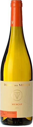 TORRE DEL VEGUER Muscat – Vino Blanco Moscatel de grano menudo, Producción y Vendimia Artesanal. Denominación de Origen Penedes. 75cl. Regalo original