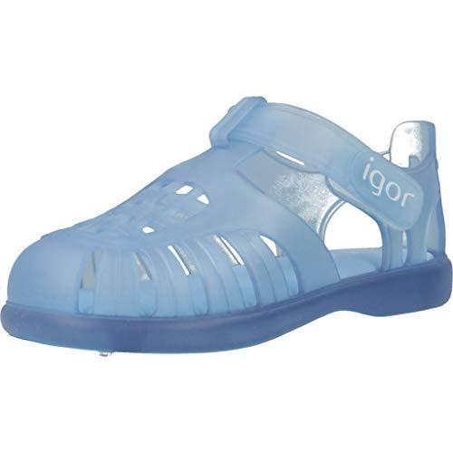 IGOR Chancla cangrejera de Playa niño IGO S10233 Azul - 27, Azul
