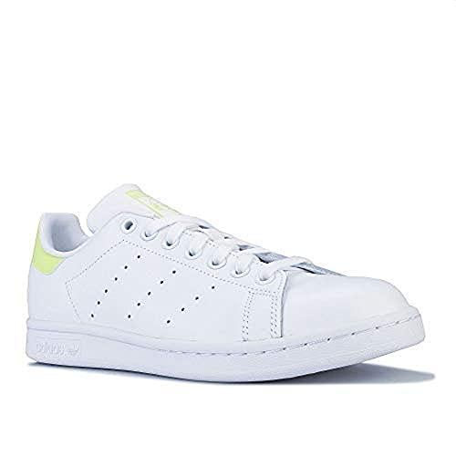adidas Mujer Stan Smith W Zapatillas Blanco, 37 1/3