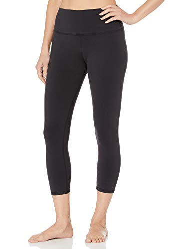 Alo Yoga Women's High Waist Airbrush Capri Legging, Black, Small