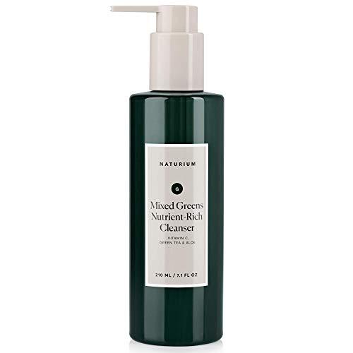 Naturium Skincare Mixed Greens Nutrient-Rich Facial Cleanser
