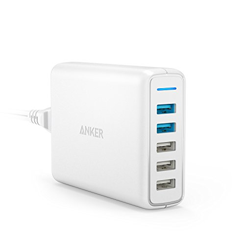 Anker PowerPort Speed 5 (63W 5ポート USB急速充電器)【PSE認証済/PowerIQ搭載/QC 3.0対応】 iPhone/Andro...