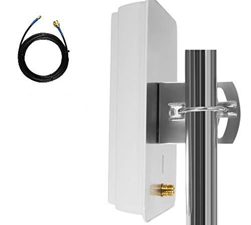 Simplytech - Antena de Banda Ancha móvil para Router Huawei B683 E5172 B970 B970B B260 B593 B260A Boost SMA
