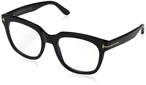 Tom Ford FT 5537-B BLUE BLOCK BLACK 52/20/140 women Eyewear Frame