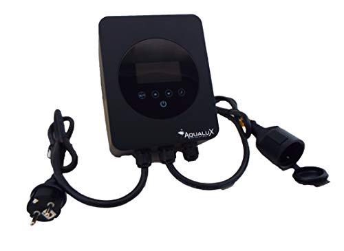 EDENEA - Régulateur Vitesse pour Pompe Piscine - Variateur Vitesse Variable - Economie Et Silence (Puissance Maxi 1100W 6A 230V)