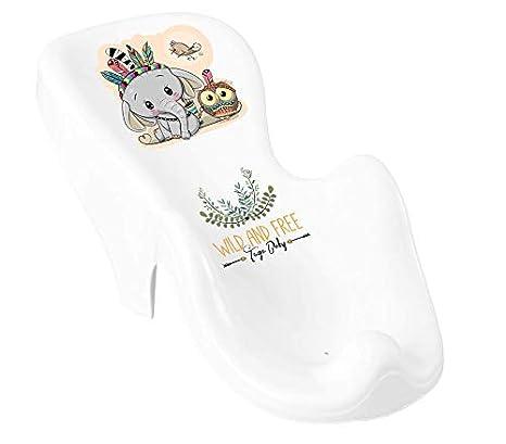 3er Set Baby-Badewanne Set ergonomische Babywanne 86 cm 3er Set, Elefant Badesitz Badewannensitz St/änder Gestell