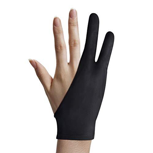 Smosyo Guante para tablet Drawing Glove, guantes antiincrustante para tableta gráfica, iPad, pantalla, pintura artística, protección de la superficie