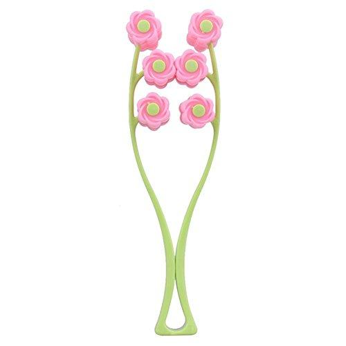GSEASTBUY Rouleau de massage portable en forme de fleur anti-rides élastique amincissant pour le visage, la relaxation, les outils de beauté