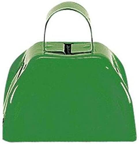 verde Metal Cowbell - 12 Pack by RIN (English Manual)