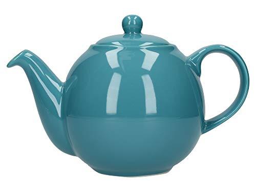 London Pottery Globe Tetera con colador, ceramica, Agua, 4 Cup (900 ml)