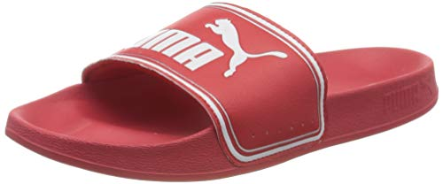 PUMA Leadcat FTR, Zapatos de Playa y Piscina Unisex-Adulto, Rojo (High Risk Red White Silver), 39 EU