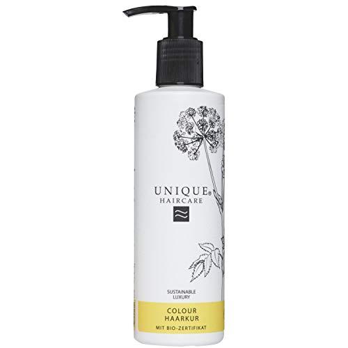 Unique Beauty Haircare Cure Colour pour cheveux 250 ml Protège contre farbver metallique & la chaleur einwirkung