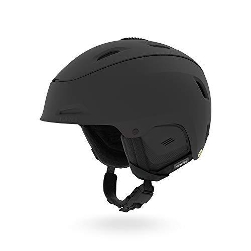 Giro Range MIPS Helmet Esquiar, Snowboard Negro - Cascos de protección para Deportes (Unisex, Conform fit System, Mate, Negro)