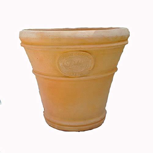 大型 植木鉢 アンティーク風 クルス テラコッタ色 (40cm) FEI-SB-16-003 おしゃれ ヨーロピアンなテラコッタ 陶器鉢 ベトナム鉢 素焼き鉢 園芸 ガーデニング プランター