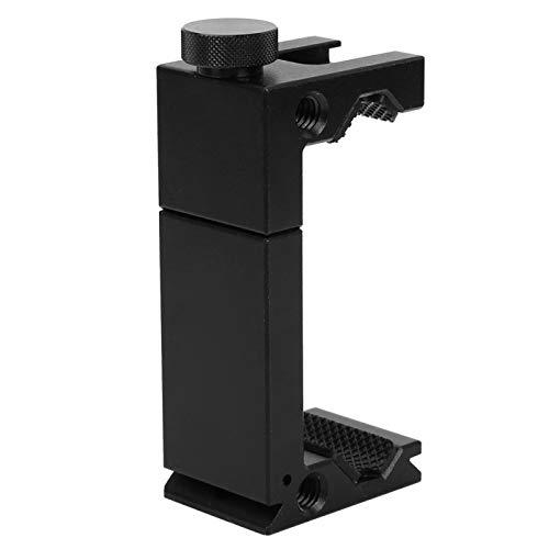 Shipenophy Soporte para teléfono, adaptador ajustable de trípode para teléfonos inteligentes para accesorios de fotografía móvil