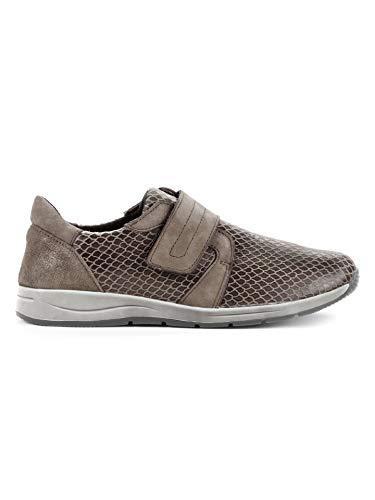 Avena Damen Hallux-Klett-Sneaker 180 Grad Braun Gr. 41