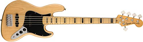 Squier by Fender Classic Vibe 70's Jazz Bass V - Arce, natural