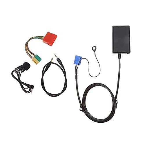 ZIMEI MEIKAI Coche Bluetooth aux Libres Libres USB Cable de Audio Adaptador de música Apto para Audi A3 8L 8P A4 B5-B7 A6 4B A8 4D