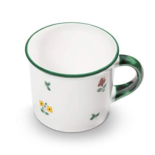 GMUNDNER KERAMIK Kaffeehäferl glatt Füllmenge : 0.24 Liter Streublume Geschirr, handgemacht in Österreich