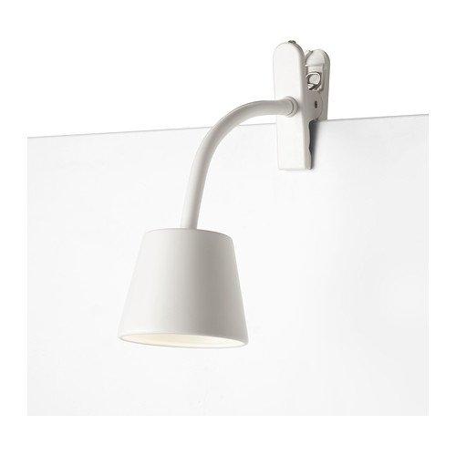 IKEA(イケア) TISDAG ホワイト 60209214 LEDクランプスポットライト、ホワイト