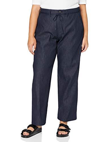 G-STAR RAW Damen Jeans Lintell High Waist Wide, Raw Denim 9657-001, 34W / 34L