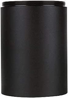 Dilwe Riflescope Sunshades Matte Black Viper Sunshade Tube 40Mm Lens Shade Spotting Scope for Standard Rifle Scope