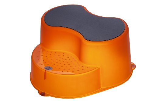 Rotho Babydesign Marche-Pied - Orange Transparent