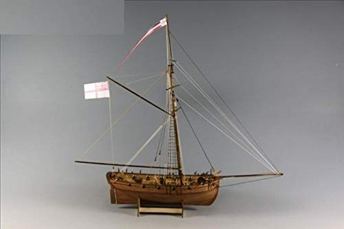 Modelos Prefabricados Y De Molde Fundido Maquetas De Barcos 1/64 Maquetas De Madera Para Veleros Cutter Lady Nelson Maqueta De Barco