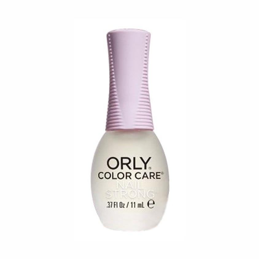 安息ラウンジ応答ORLY(オーリー) カラーケア ネイルストロング 11mL (ベース&トリートメント/透明)