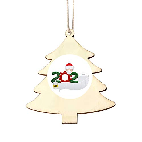 DIY Personalized Quarantine Face Mask Baby Decorating Christmas Tree Ornament Home & Garden Decoration & Hangs