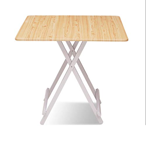 Tingting1992 tavolino da Salotto Tavolo da Esterno di Moda Home in Legno massello Balcone Afternoon Tea Piccolo Appartamento Simple Art Tavolo Pieghevole tavolino (Color : C, Size : S)