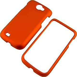 Dark Orange Rubberized Protector Case for Samsung Exhibit II 4G T679