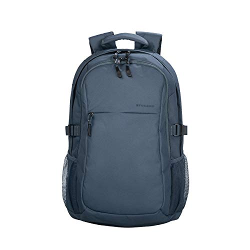 Tucano - Ecolive - Zaino per MacBook PRO 15', Laptop 15.6', Notebook 14'. Materiale Riciclato 100%. Ecologico. Ottenuto dal Pet. Doppia Tasca Interna Imbottita per Notebook e Tablet.