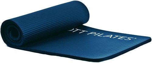 STOTT PILATES Deluxe Pilates Mat (Midnight Blue) 0.6 inch / 15 mm