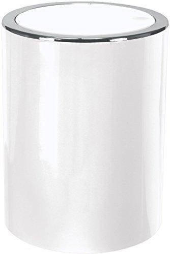 Kleine Wolke Clap Kosmetikeimer, ABS, Weiß, 5 Liter