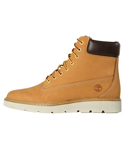 Timberland Damen Kenniston 6 Inch Lace Up Stiefel, Gelb (Wheat Nubuck), 38 EU