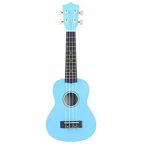 DAXINYANG 21 Pulgadas de Fibra de Carbono Ukulele Ukulele Puede Jugar de Cuatro Cuerdas de la Guitarra de Color Ukulele pequeña Guitarra Instrumentos Musicales para niños