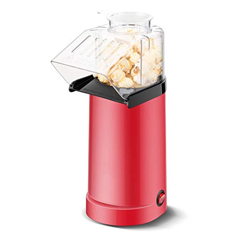 Review Of Popcorn Maker Hot Air Corn Popper Food-grade aluminum liner Make Homemade Healthy Oil-Free...