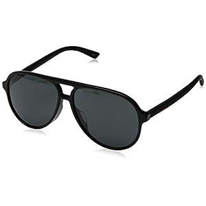 Fashion Shopping Gucci GG0423SA Black/Grey One Size
