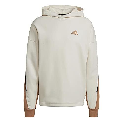 adidas Herren M Street Q2 HD Sweatshirt, Nondye/Carton, XL
