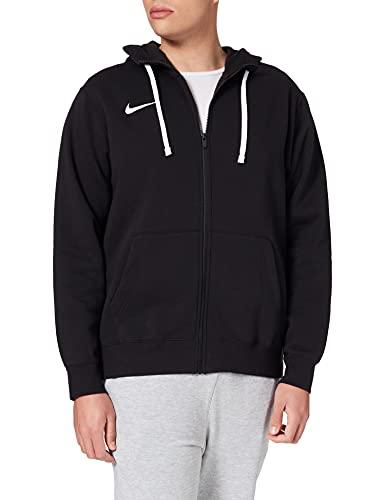 NIKE M NK FLC PARK20 FZ Hoodie Sweatshirt, Black/White/White, S Mens