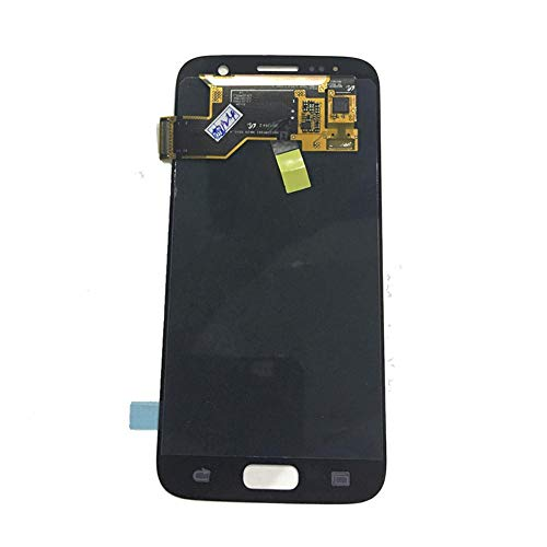 un known Pantalla LCD de Pantalla táctil digitalizador Reemplazo del Conjunto for Samsung Galaxy S7 G930A G930F SM-G930F Accesorios Electrónicos (Color : Silver)