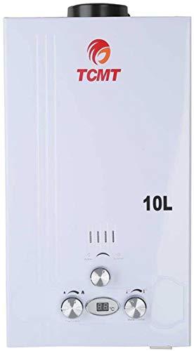 Tengchang 10L 2.6 GPM LPG Gas Propane Instant Tankless Hot Water Heater Boiler Bath